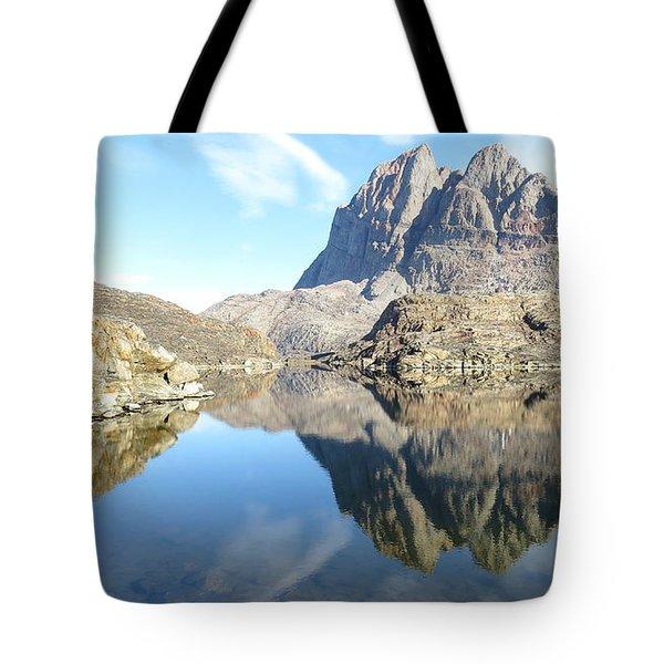 Uumm Lake Tote Bag