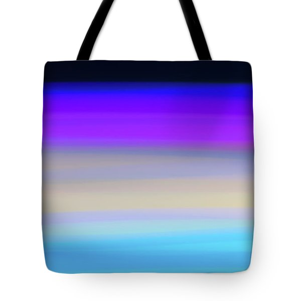 Uv Dawn Tote Bag