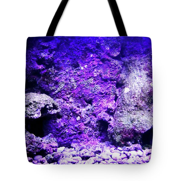 Tote Bag featuring the photograph Uw Coral Stone 2 by Francesca Mackenney