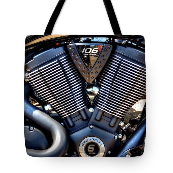 Tote Bag featuring the photograph V by Adrian LaRoque