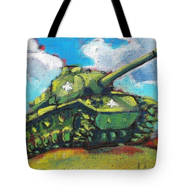 V. F. W. Tank Tote Bag