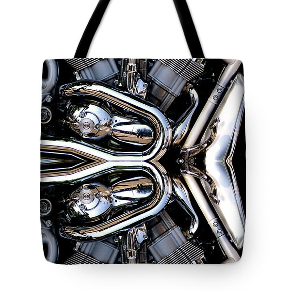 V-rod Reflected Tote Bag