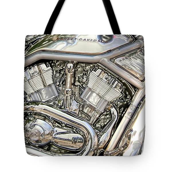 V-rod Titanium Tote Bag