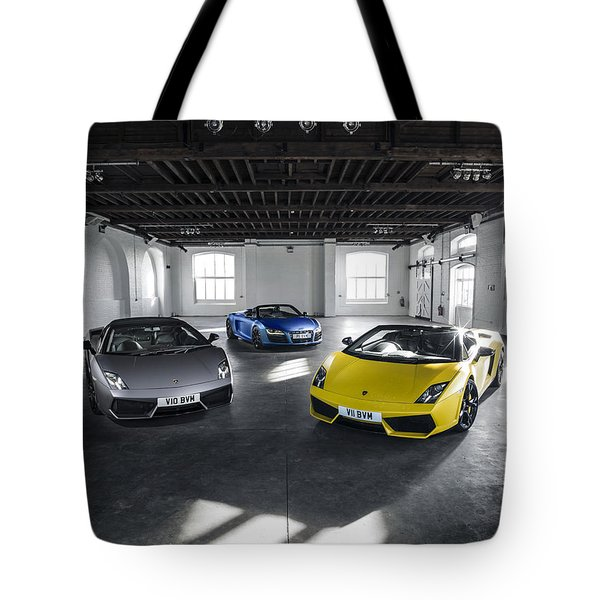 V10 Family Tote Bag