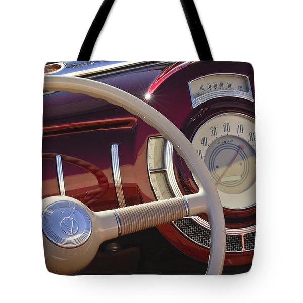 V8 Hot Rod Dash Tote Bag by Jill Reger