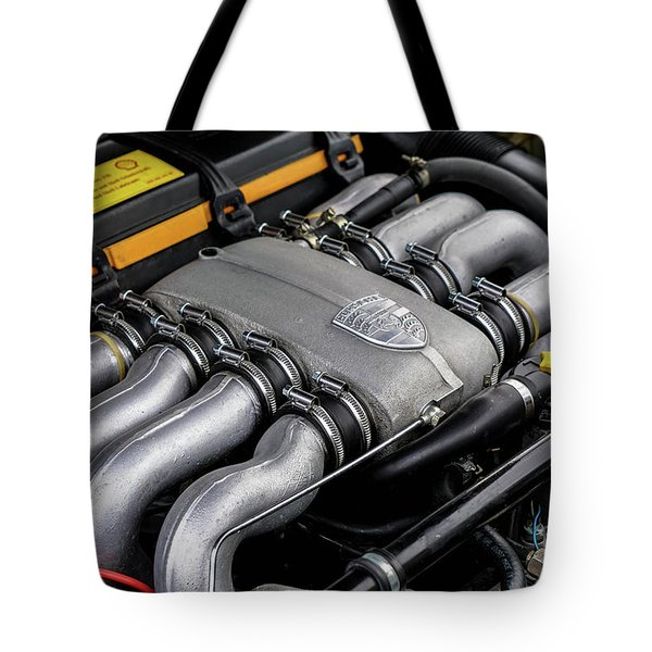 V8 Porsche Tote Bag