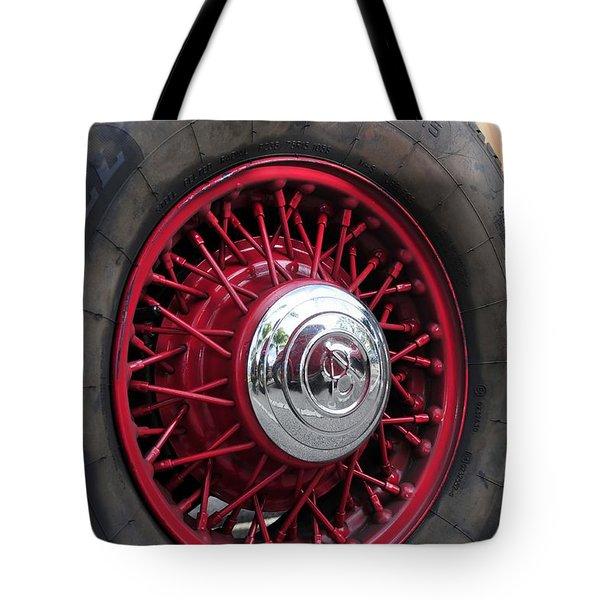 V8 Wheels Tote Bag by David Lee Thompson
