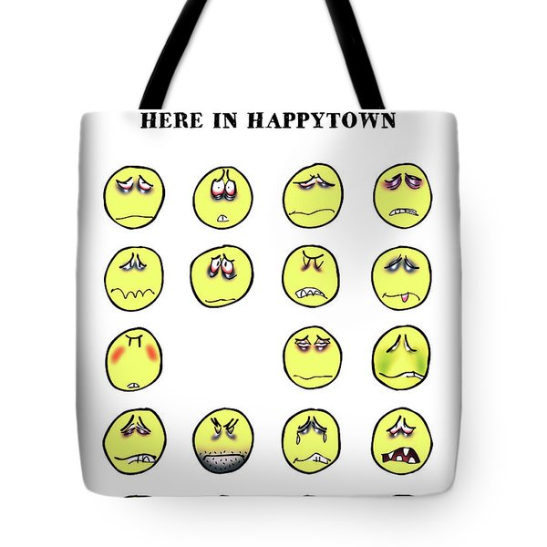 Vacancy In Happytown Tote Bag