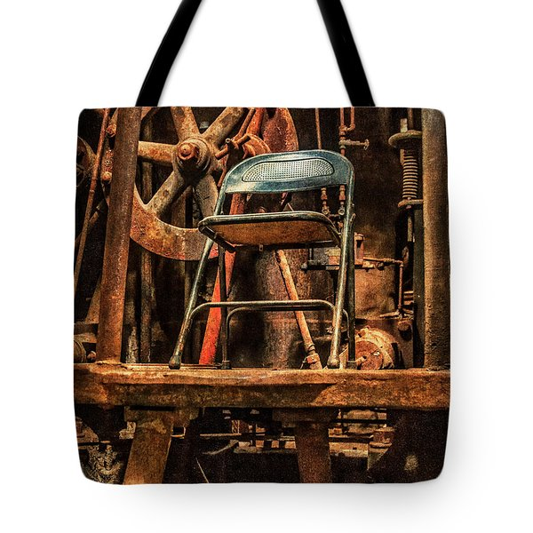 Vacant Control Station  Tote Bag by Phillip Burrow