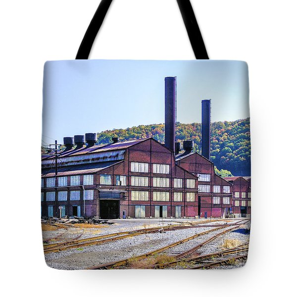 Vacant Steel Mill - Johnstown Pa Tote Bag