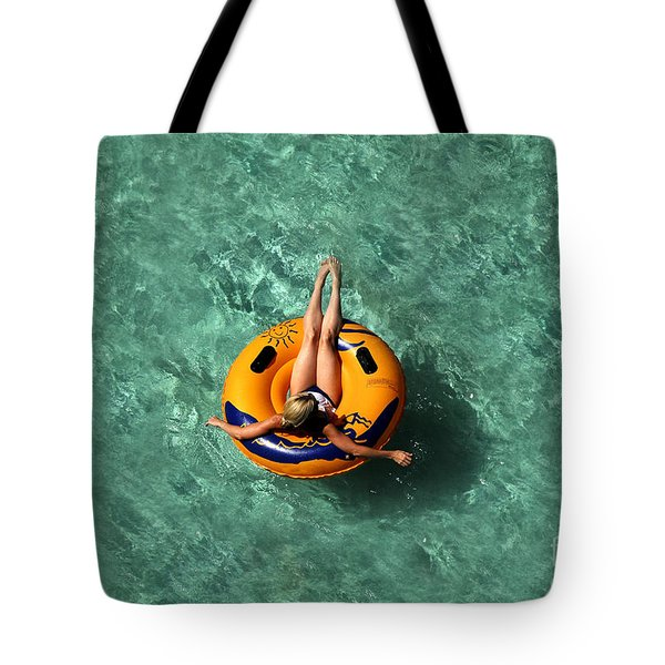 Vacation Tote Bag by David Lee Thompson