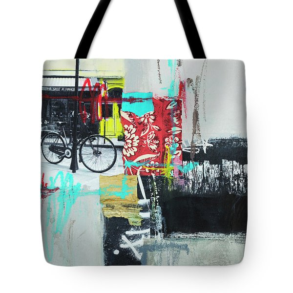 Tote Bag featuring the photograph Vacation In Paris by Elena Nosyreva