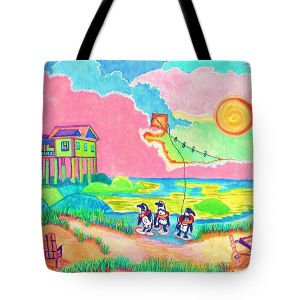 Vacation In The Sun Tote Bag