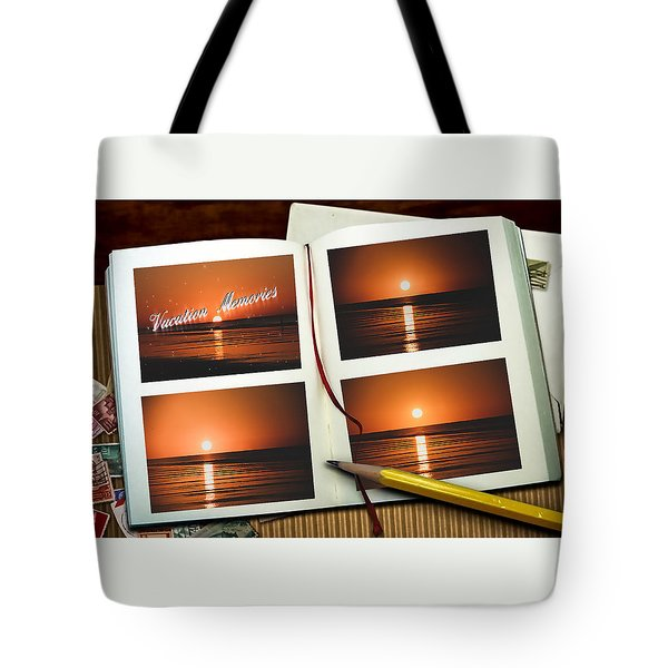 Vacation Memories Tote Bag