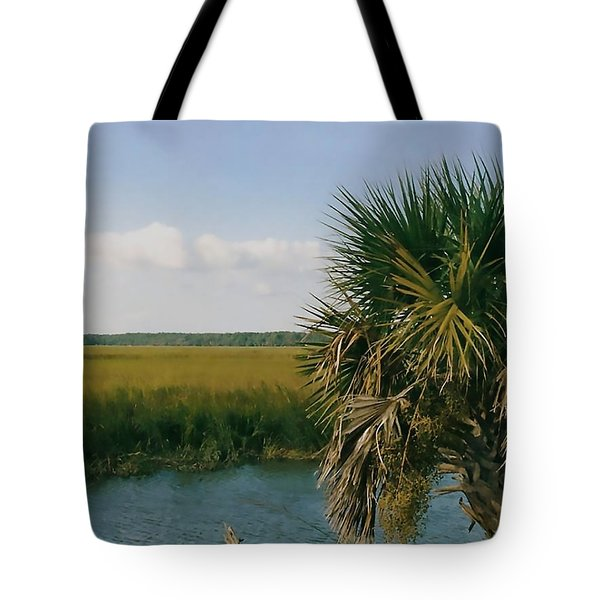 Vacation View Tote Bag