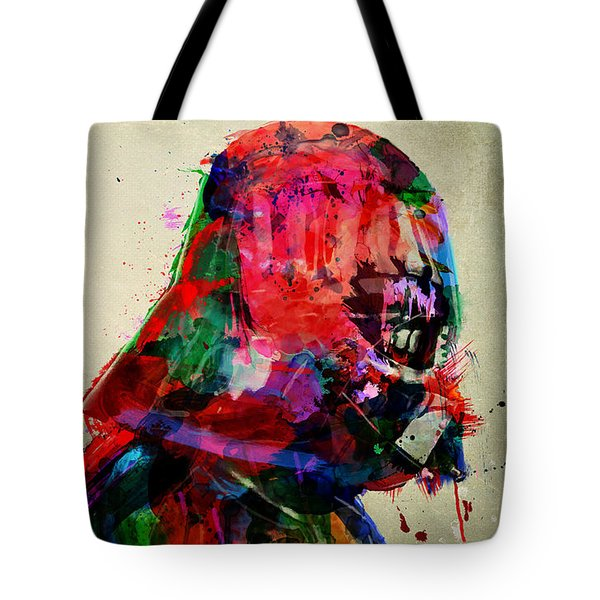 Vader In Color And Thought Tote Bag