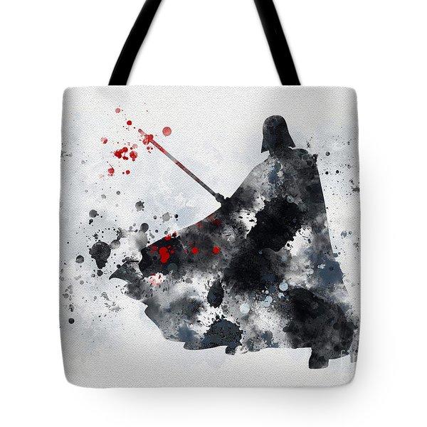 Vader Tote Bag by Rebecca Jenkins