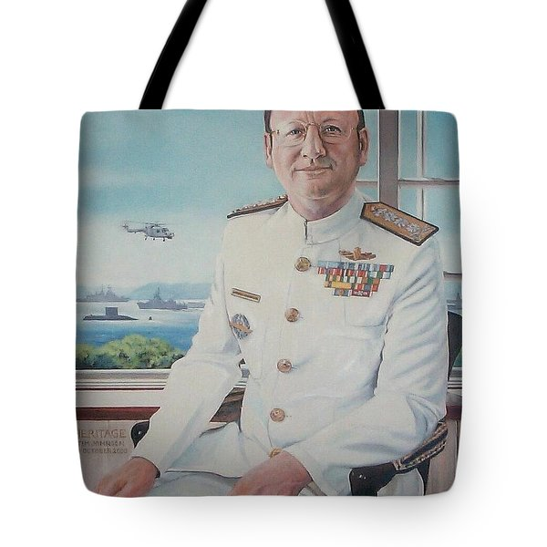 Vadm Robert Claude Simpson-anderson Tote Bag