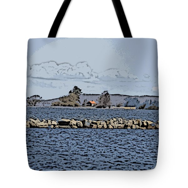 Vaennern Lake Tote Bag