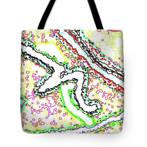 Vaguely Aware Tote Bag by Yshua The Painter