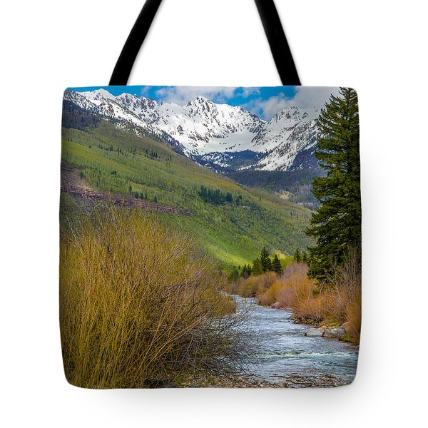 Vail Stream Tote Bag