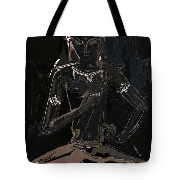 Vajrasattva Tote Bag by Rabi Khan