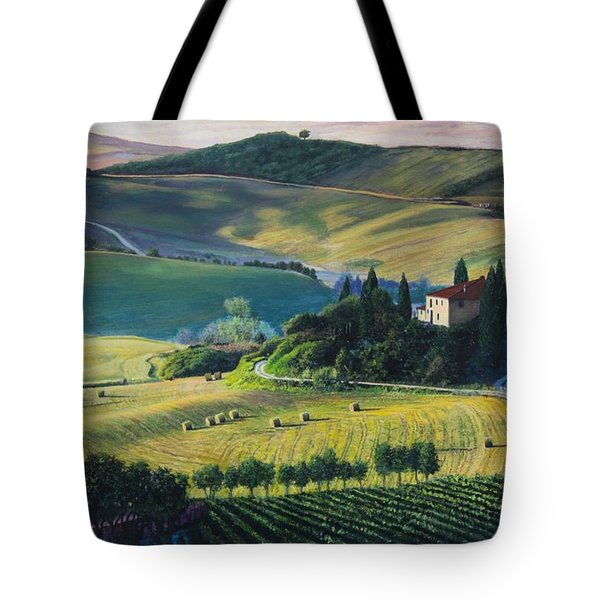 Val D'orcia Tote Bag