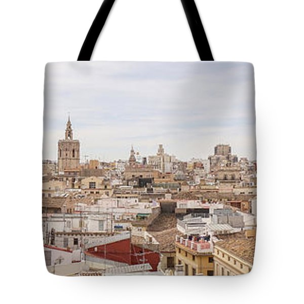 Valencia Panorama Tote Bag