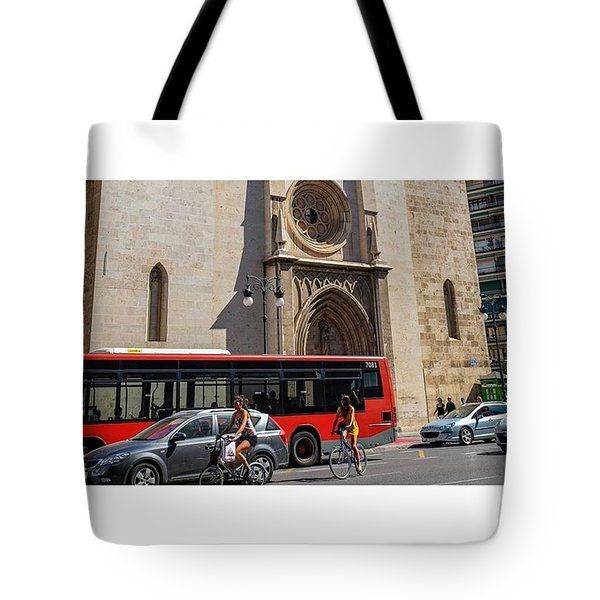 Valencia, Spain.  #fuji #myfujifilm Tote Bag by Marcelo Valente