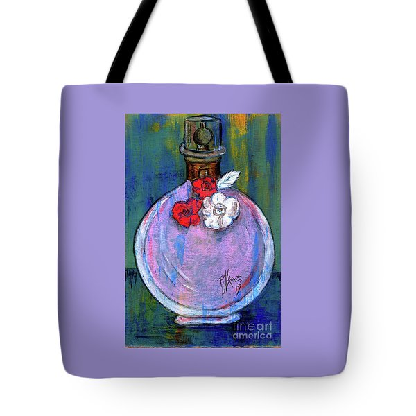 Tote Bag featuring the painting Valentina by P J Lewis