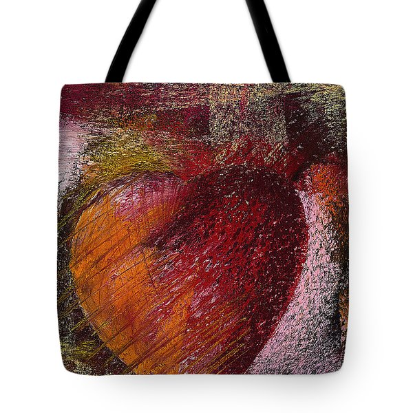 Valentine Heart Tote Bag by David Patterson