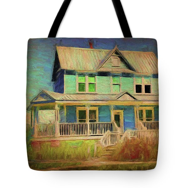 Valentine House Tote Bag