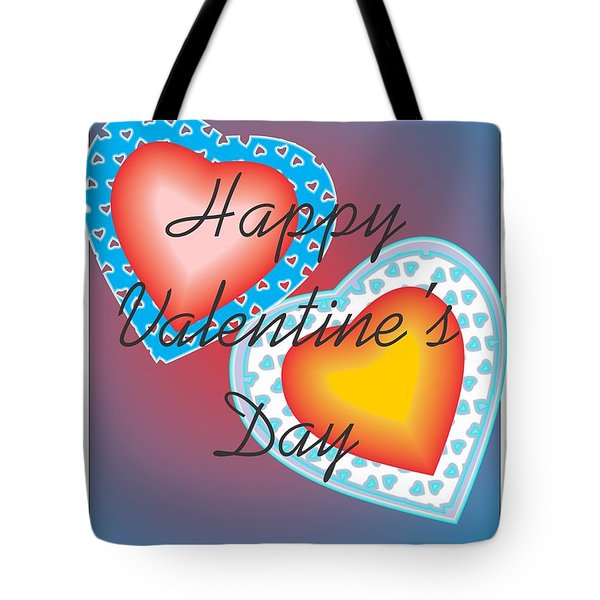 Valentine Lace Tote Bag by Sherril Porter
