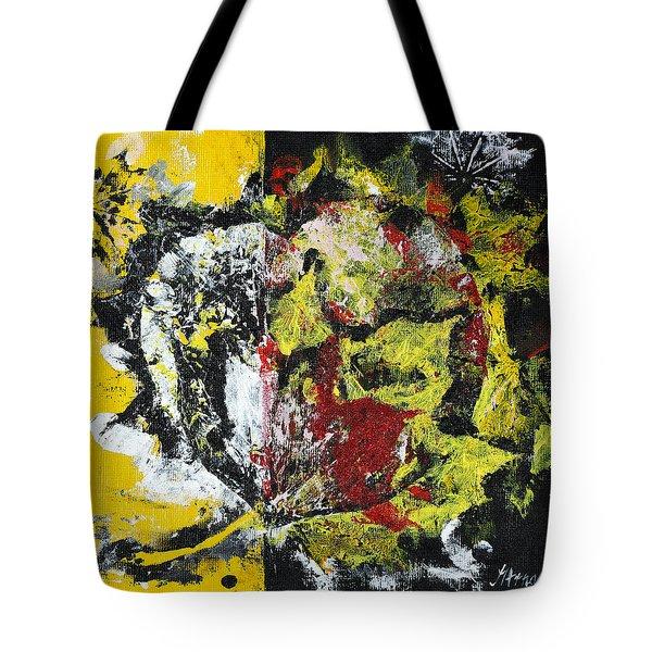 Valentine Leaves Tote Bag