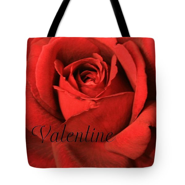 Valentine Tote Bag by Marna Edwards Flavell