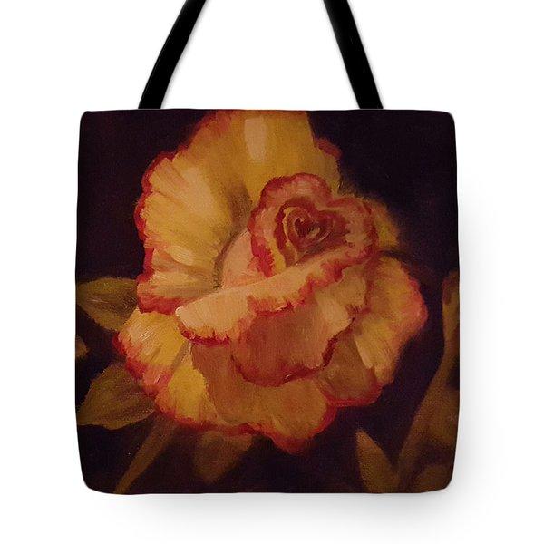 Valentine Rose 2 Tote Bag