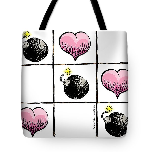 Valentine Violence Tote Bag