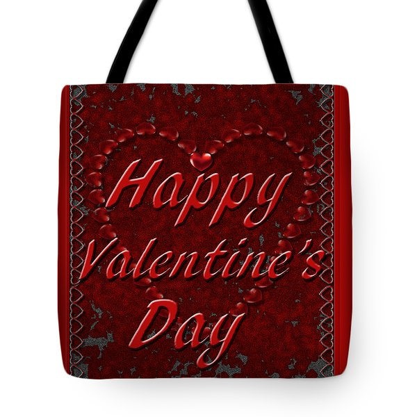 Tote Bag featuring the digital art Valentine3 by Michelle Audas