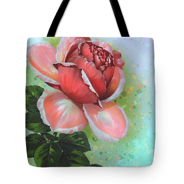 Tote Bag featuring the digital art  Valentine's Day by Andrzej Szczerski