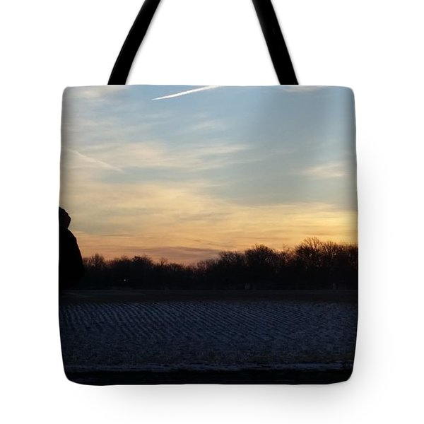 Valentines Sunrise Tote Bag