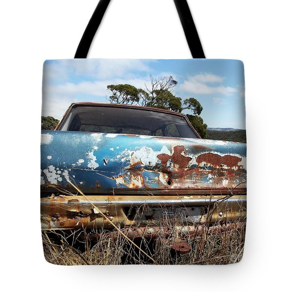 Valiant View Tote Bag by Stephen Mitchell