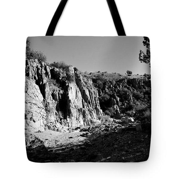 Valles Canyon Tote Bag