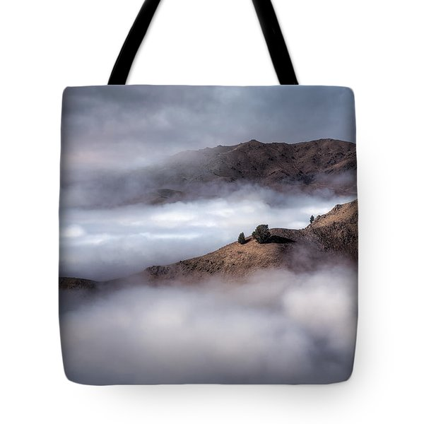 Valley In The Clouds Tote Bag