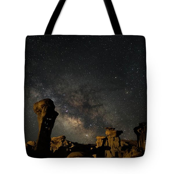 Valley Of Dreams Tote Bag by Keith Kapple