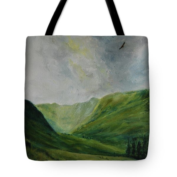 Valley Of Eagles Tote Bag