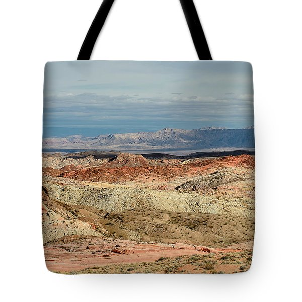 Valley Of Fire, Nevada Tote Bag