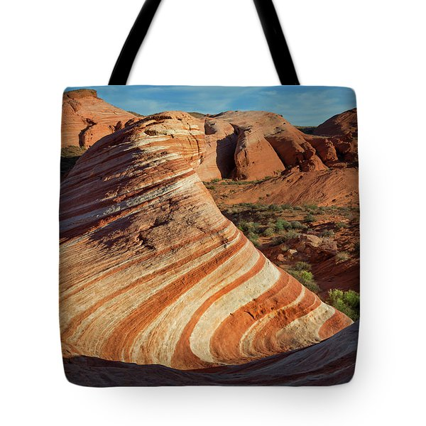 Valley Of Fire Xiv Tote Bag