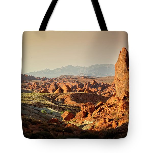 Valley Of Fire Xxiii Tote Bag
