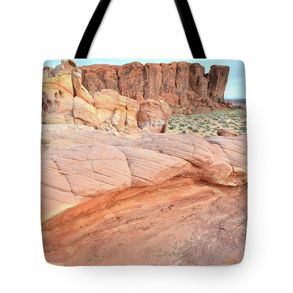 Tote Bag featuring the photograph Valley Of Fire's North End by Ray Mathis