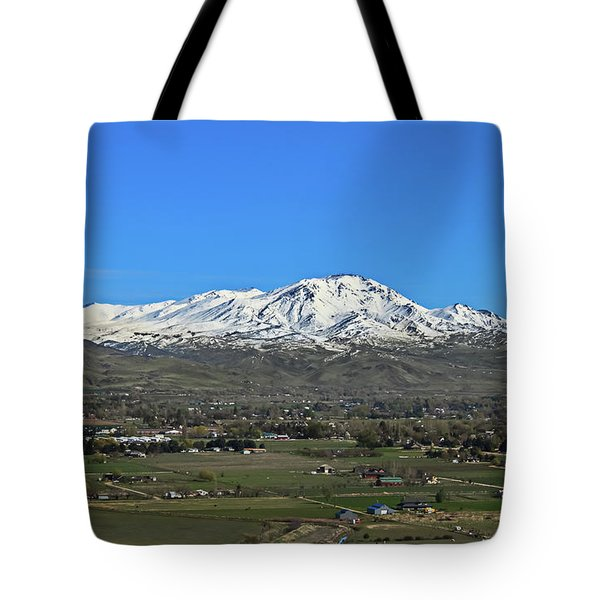 Valley Of Plenty Tote Bag by Robert Bales